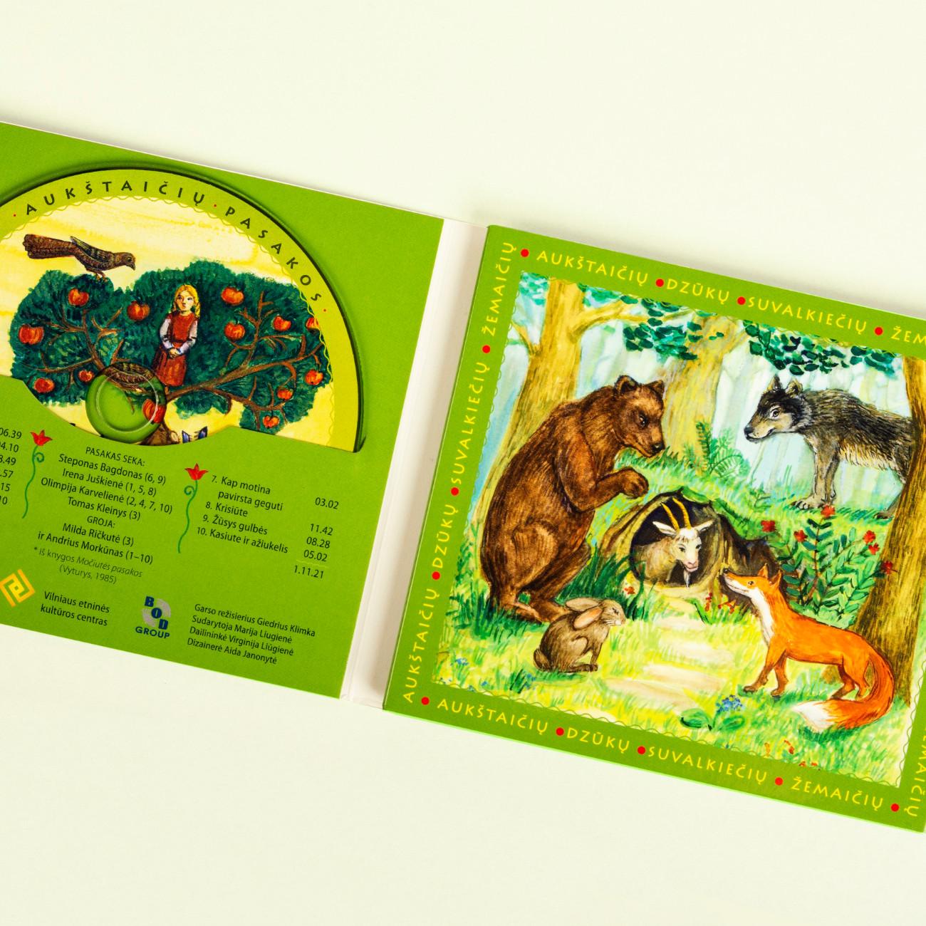Lietuviškos pasakos tarmiškai (4 CD)
