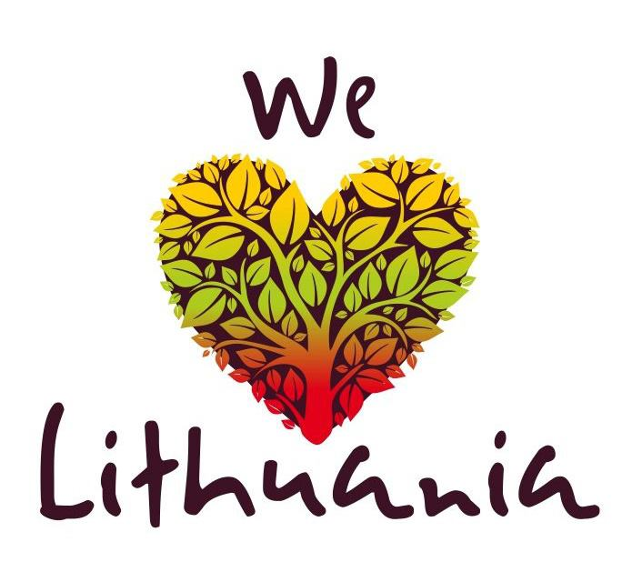 We Love Lithuania logotipas